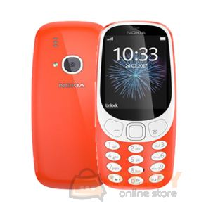Nokia 3310 3G 128MB Phone  - Red