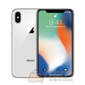 Apple iPhone X 64GB 5.8 Inch Phone - Silver