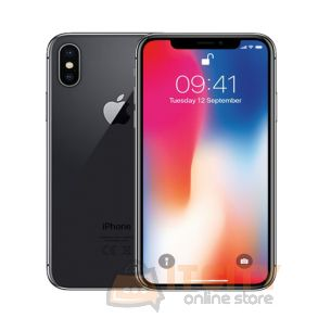 Apple iPhone X 256GB 5.8 Inch Phone - Space Gray