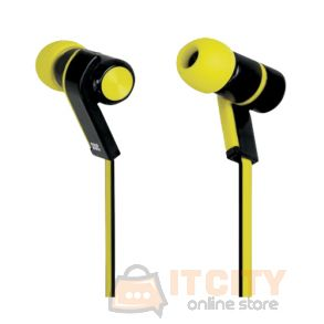 Promate Brazen Universal Sporty In-line Headset Yellow