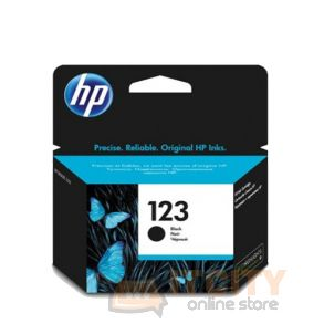 HP Ink 123 for Ink Jet Printing 120 Page Yield - Black