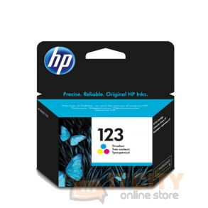 HP Ink 123 for Ink Jet Printing 100 Page Yield – Tri Colors