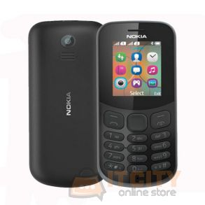 Nokia 130 4MB Dual Sim Phone - Black