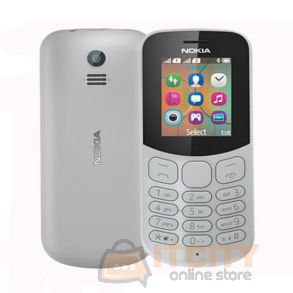 Nokia 130 4MB Dual Sim Phone - Grey