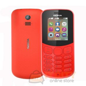 Nokia 130 4MB Dual Sim Phone - Red
