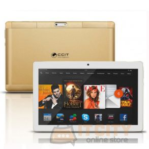 CCIT T7 Max Tablet 32GB Dual Sim 10.1 Inch - Gold
