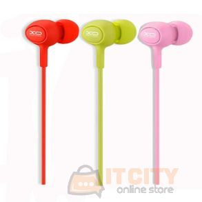 XO S6 Candy Series Hands Free Stereo Headphone In Ear