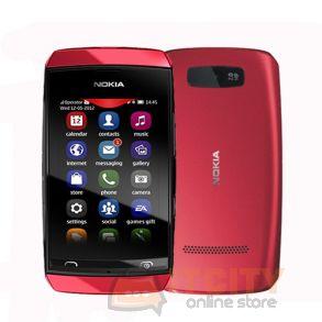 Nokia Asha 305 Touchscreen Phone - Red