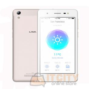 Lava Iris 50 8GB 5 inch Phone - Gold