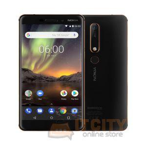 Nokia 6.1 64GB 5.5 Inch Phone - Black