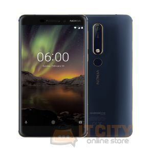 Nokia 6.1 64GB 5.5 Inch Phone - Blue