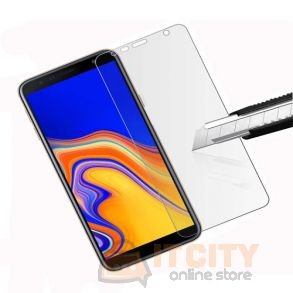 Tempered Glass Screen Protector For samsung J4 plus