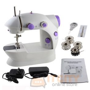 Electric Multi function mini Portable Sewing Machine SM-202