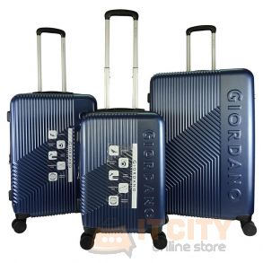 Giordano Ultra Strength Expendable ABS Hard Case Trolley GA9618 - Blue