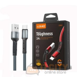 LDNIO LS63 Toughness USB Cable 2.4A Fast Charging For Android