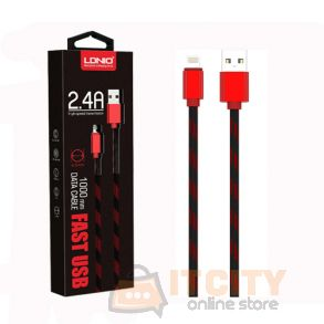 LDNIO LS23 High Speed 2 4A Fast Charging Cabel For IPhone