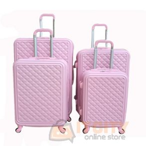 Hard Luggage Travel Bag 4Pcs Set