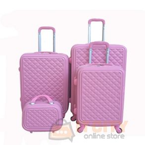 "Hard Luggage Travel Bag 4Pcs Set 4Pcs 12""-20""-24""-28"""