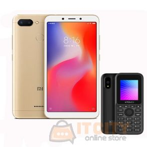 Redmi 6 64gb 5.45Inch phone With Xtouch L4 Mobile