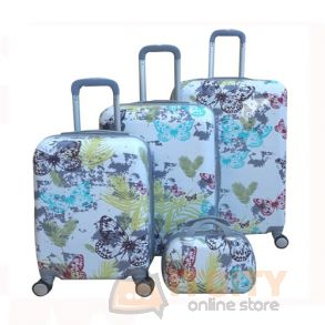 "Hard Luggage Travel Bag 4Pcs Set 4Pcs 12""-20""-24""-28"""