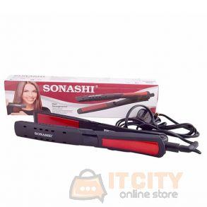 Sonashi Hair Straightener Digital Led Display 0 Level Temperature Setting SHS 2054