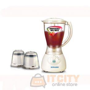 Sonashi 3 In 1 Blender Jar Mill - SB-133