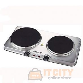 Sonashi Stainless Steel Double Hot Plate SHP 611S