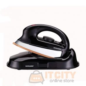 Sonashi Cordless Heavy Iron Black SHI 6014C