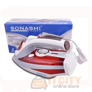 Sonashi Ceramic Sole Plate Steam Iron SI 5060C