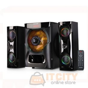 Sonashi 2 1 Channel Multimedia Bluetooth Speakers SHS 2105USRB