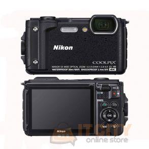 Nikon W300 Waterproof Digital Camera with TFT LCD 3Inch - Black