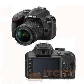 Nikon D3400 DSLR Camera 24.2 MP With 18-55MM Kit Lens - Black