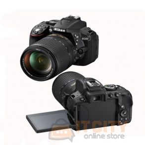 Nikon D5300 24.2MP DSLR Camera with 18-140mm VR Kit - Black