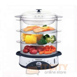 Magnum 3 Tier Deluxe Food Steamer MG-1350