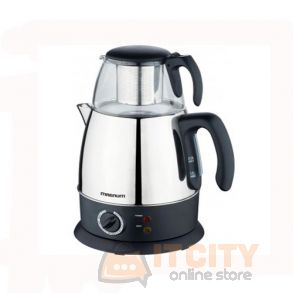 Magnum Dual 2 In 1 Tea Maker & Water Kettle 980W MG-057TK