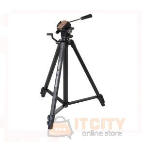 Velbon Videomate 438 Aluminum Tripod - Black