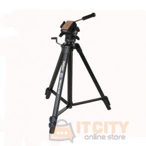 Velbon Videomate 538-F Aluminum Tripod - Black