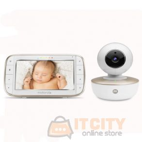 Motorola MBP855 Connect Portable 5Inch Baby Monitor with wifi and camera