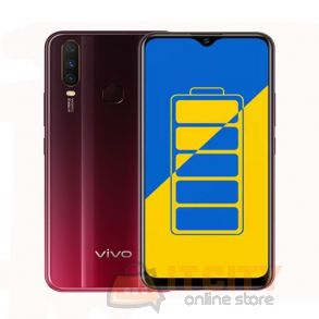 Vivo Y15 64GB 6.35-Inch Phone - Burgundy Red