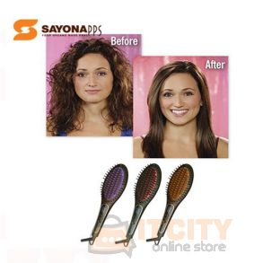 SayonaPPS The New 70W Ceramic Hair Brush Straightener