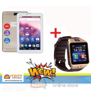 C-idea 16GB 7 Inch 4G Dual SIM Tablet with Smart watch