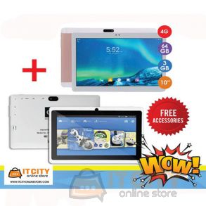C-idea 64GB 10 Inch 4G Dual SIM Tablet with C-idea wfifi tab