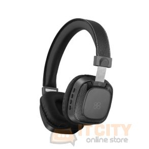 Premium On-Ear Wireless Stereo Headset (Melody-BT) - Black