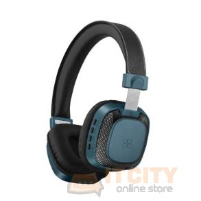 Premium On-Ear Wireless Stereo Headset (Melody-BT) - Blue