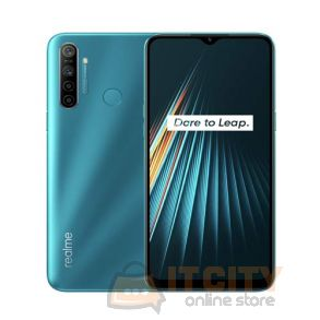 Realme 5i 64GB /4GB 6.5 inch Phone - Aqua Blue