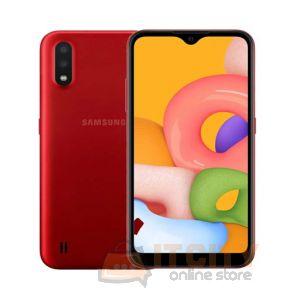 Samsung Galaxy A01 16GB 5.7Inch Phone - Red