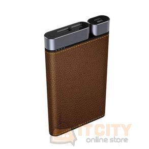 Puridea X01 Power Bank 10000MAh - Brown