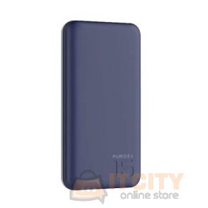 Puridea S3 15000mAh Power Bank - Blue