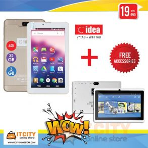 C-idea 32GB 7 Inch 4g Tablet +Cidea wifi Tab