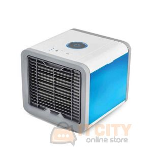 Mini Air Conditioner coolong Fan With Color LED Light